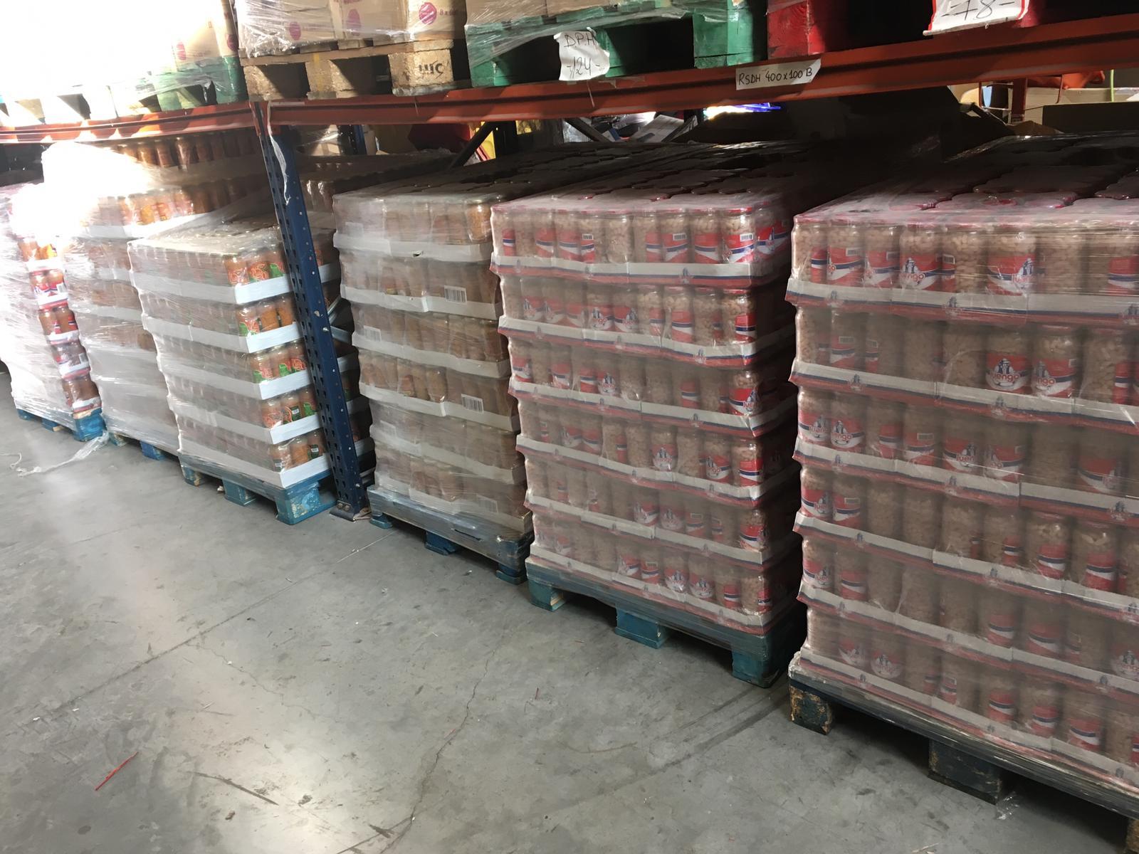 Empresas nos donan legumbres cocidas y quesos