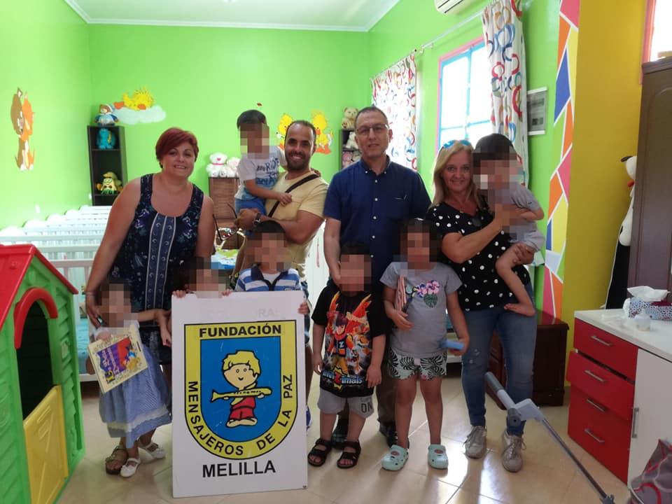 Taller de cuentacuentos del Orfanato de Nador en Marruecos