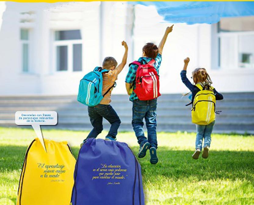 Campaña Ayúdales a Volver al Cole: Llena sus mochilas de ilusión