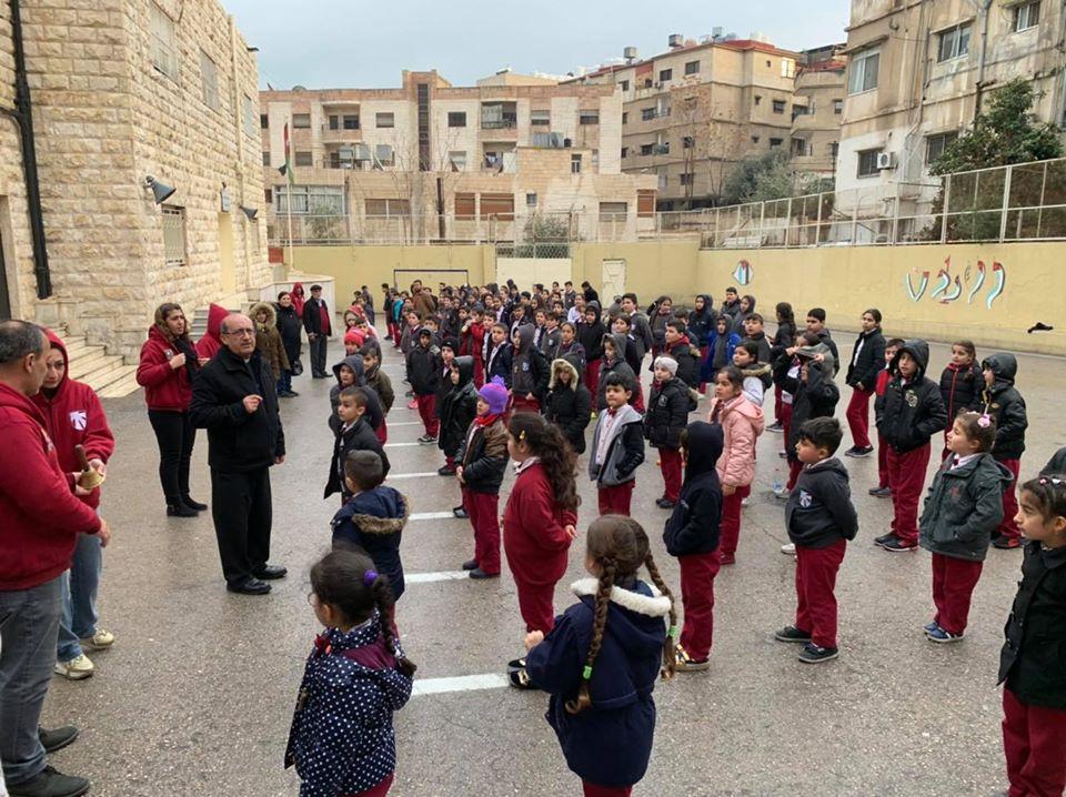 Se inicia el proyecto Marka de Profuturo en Amman – Jordania