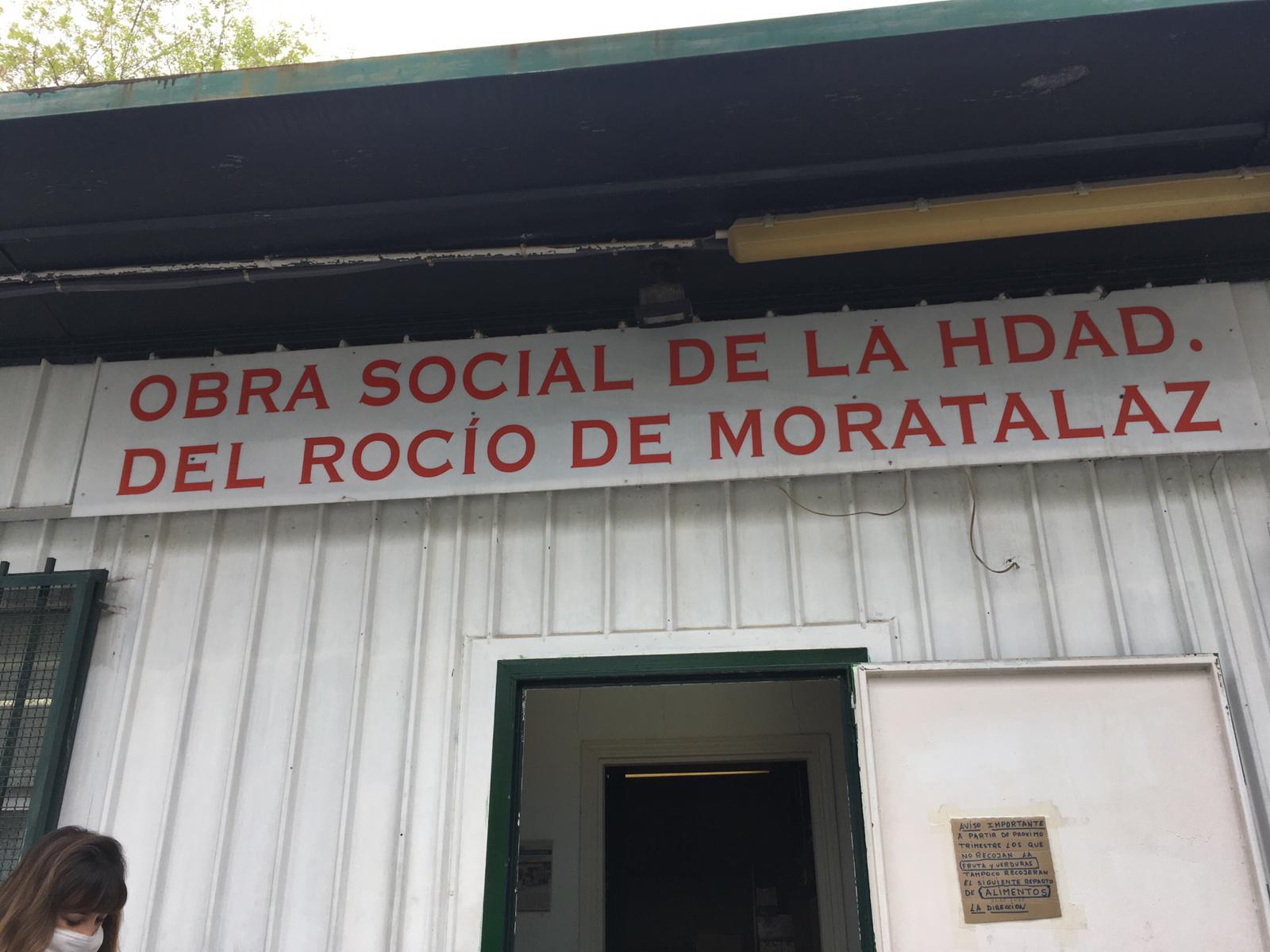 Envío de alimentos para la Obra Social de la Hermandad del Rocio
