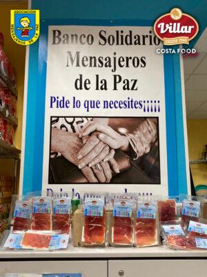 Industrias Cárnicas Villar sigue con su colaboración con la Fundación Mensajeros de la Paz
