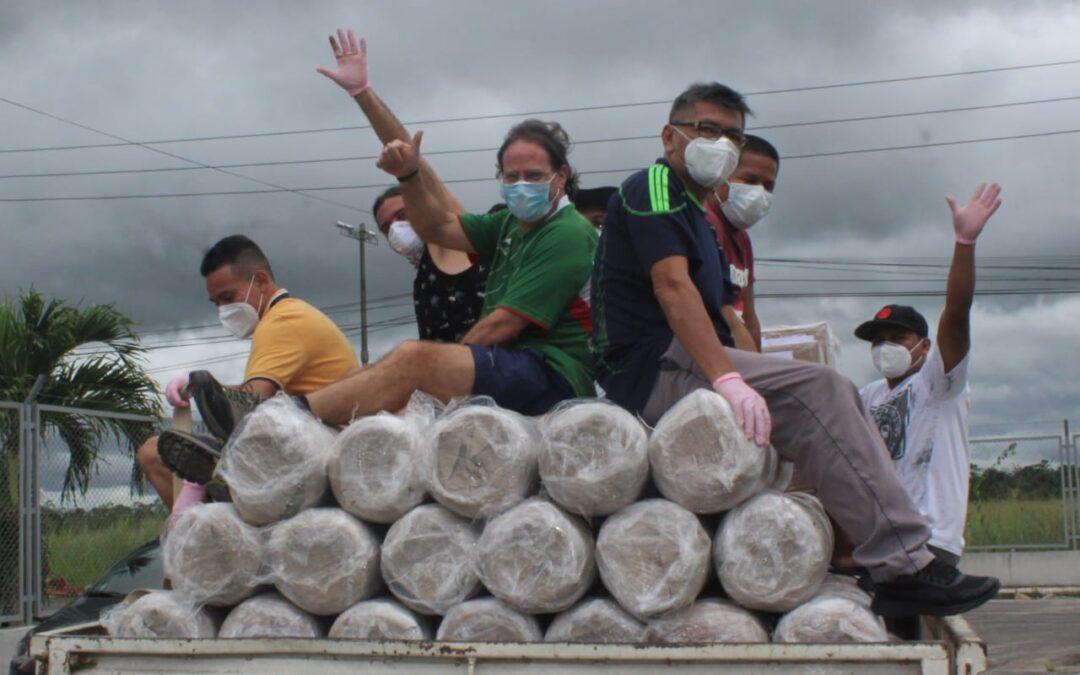 Proyecto de apoyo a la defensa de la vida de los pueblos frentea la pandemia del Covid-19 en el Vicariato San José del Amazonas, Loreto, Perú