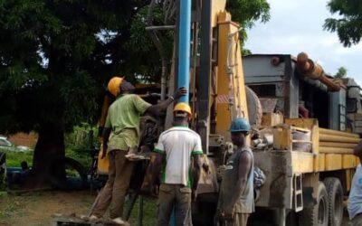 Hemos encontrado agua en Benin, en el campo de Fulani en Gome
