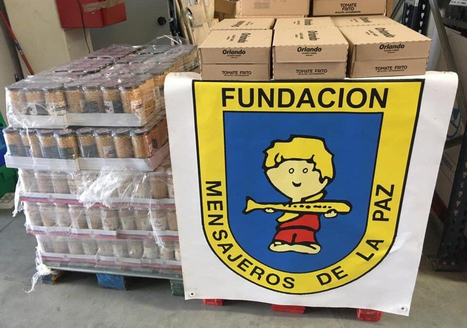 Donación a la red solidaria Cerrillo