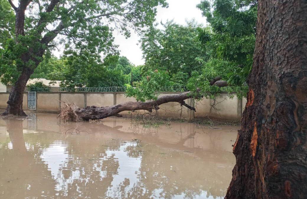 Inundaciones en Mali