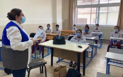 Comienza el curso en la escuela de FMDLP en Aman (Jordania)