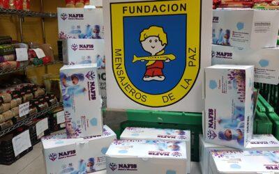 Quirónsalud dona a la Fundación Mensajeros de la Paz 3000 mascarillas
