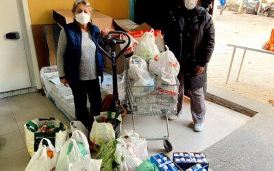 Movimientos solidario de recogida de alimentos