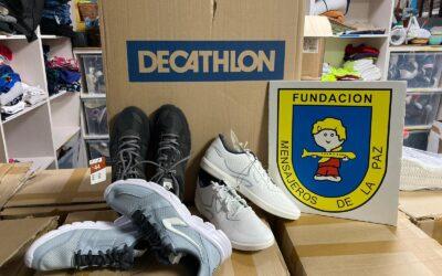 """Acción solidaria Caixa """"Zapatos Nuevos""""- segunda edición"""