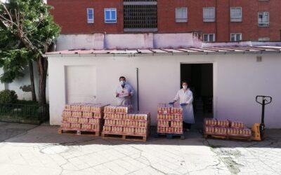 @LegumbreLuengo vuelve a donar a nuestro Banco Solidario productos de primera necesidad