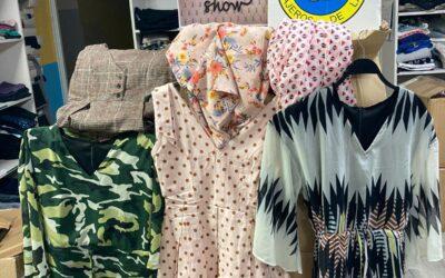 Smile Show dona a la Fundación Mensajeros de la paz 409 prendas de mujer