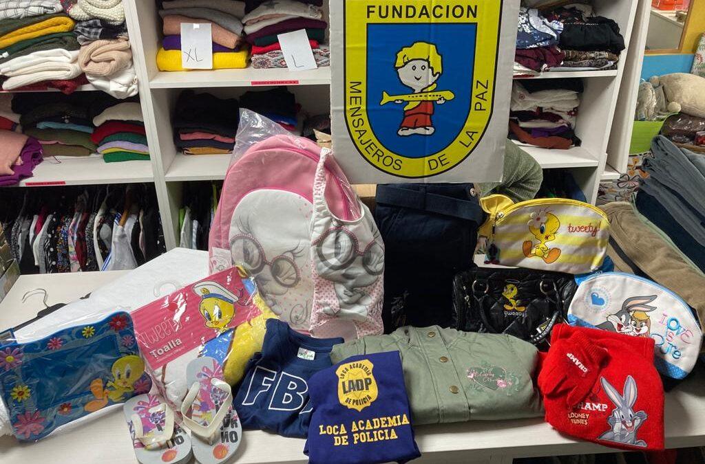 Donación de @somosnupa a la Fundación Mensajeros de la Paz