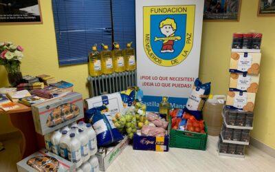 Donación de alimentos por parte del Grupo Ballesteros