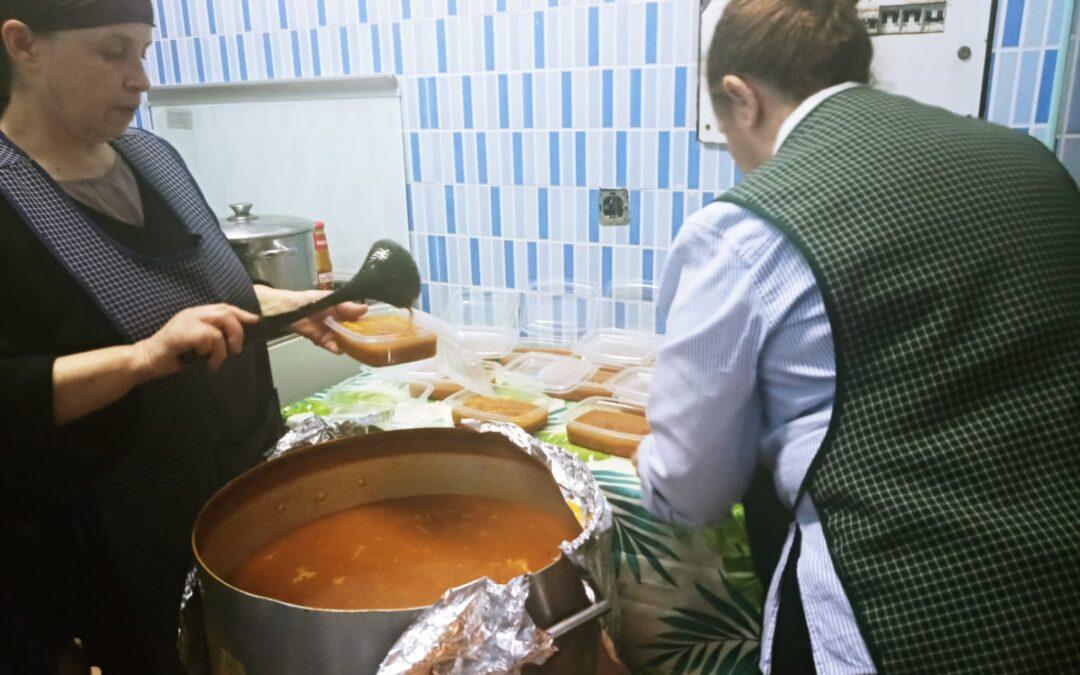 @FundaCaixa y @Caixabank nos siguen ayudando con su proyecto «Comedores con Alma»