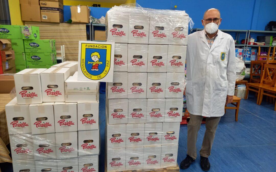 La @fundacionce y @campofrio han vuelto a colaborar con el Banco Solidario y los Comedores Familiares