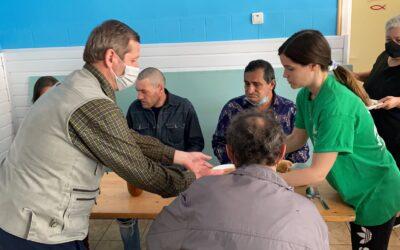 Colaboración de la Fundación Mensajeros de la Paz con Remar Rumania para la construcción de una cantina