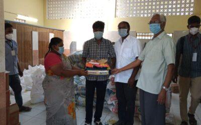 Los salesianos de Tamil Nadu han empezado a repartir ayuda de emergencia a las familias vulnerables