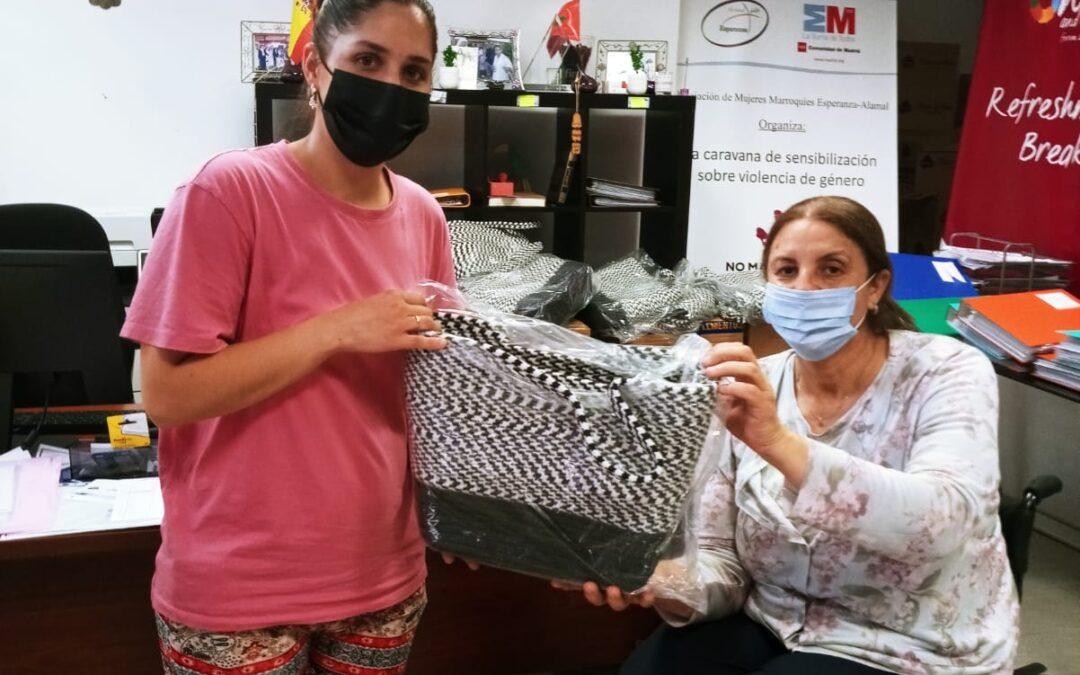 @AM FASHION & ACCESSORIES nos ha hecho entrega de 11 palets con 1320 bolsos