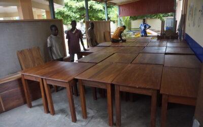 EQUIPAMIENTO DEL CENTRO DE DIA DE MENSAJEROS DE LA PAZ EN EL PUEBLO DE TCHATCHEGOU (BENIN –AFRICA-OESTE)
