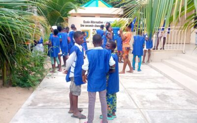 Proyecto educativo para menores vulnerables en el barrio de Fidjrossè-kpota y sus alrededores