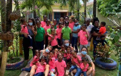 Hogar Madelaes en Santo Domingo, donde la Fundación Mensajeros de la Paz lleva colaborando varios años