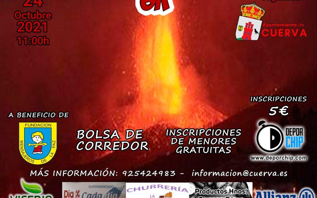 """Carrera Solidaria """"Cuerva con la Palma"""" organizada por el @AyuntamientodeCuerva"""